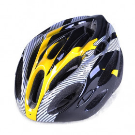 TaffSPORT Helm Sepeda EPS Foam PVC Shell - x10 (OBRAL/DEFECT) - Yellow