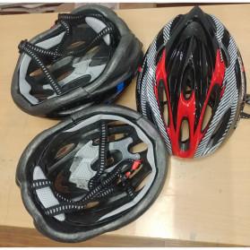 TaffSPORT Helm Sepeda EPS Foam PVC Shell - x10 (OBRAL/DEFECT) - Yellow - 3