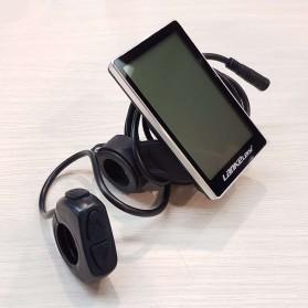 Lankeleisi Speedometer LCD Screen Sepeda Listrik for S600 - LCD-M5 - Black - 3