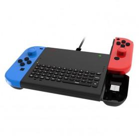 DOBE Joy-Con Wireless Keyboard 2.4G for Nintendo Switch - TNS-1702 - Black - 3