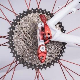 ZTTO Kait Ekor Belakang Sepeda Rear Derailleur Converter MTB Tail Hook Extender - 0604 - Black - 2