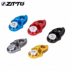 ZTTO Kait Ekor Belakang Sepeda Rear Derailleur Converter MTB Tail Hook Extender - 0604 - Black - 5