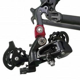 ZTTO Kait Ekor Belakang Sepeda Rear Derailleur Converter MTB Tail Hook Extender - 0604 - Black - 7