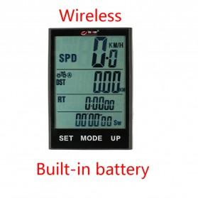 BOGEER Computer Speedometer Sepeda Wireless Odometer LED Monitor - 328 - Black - 2