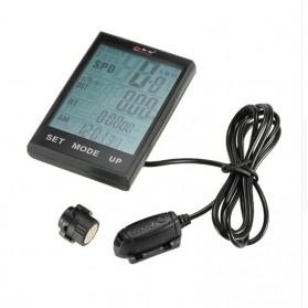 BOGEER Computer Speedometer Sepeda Wireless Odometer LED Monitor - 328 - Black - 6