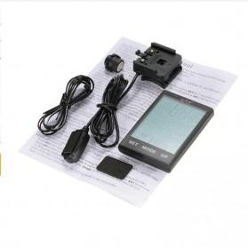 BOGEER Computer Speedometer Sepeda Wireless Odometer LED Monitor - 328 - Black - 7