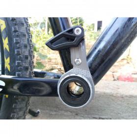 Deckas Chain Guide Rantai Sepeda MTB 1X System Mount Type ISCG 03 - Black - 2