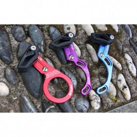 Deckas Chain Guide Rantai Sepeda MTB 1X System Mount Type ISCG 03 - Black - 4