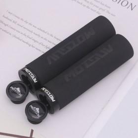 Aksesoris dan Variasi Sepeda Lainnya - MOTSUV Handlebar Busa Gagang Sepeda Bicycle Grip Ultralight 1 Pasang - GH-088 - Black