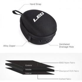 LEO Hard Case Tas Memancing Khusus Reel Pancing - F-49 - Black - 3