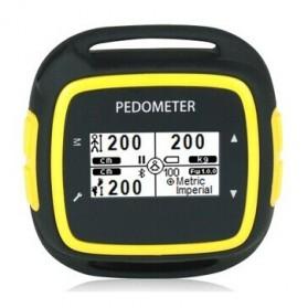Tracker Fitness & Aktifitas - EGOMAN Bluetooth Fitness Activity Tracker - PD198 - Black/Yellow