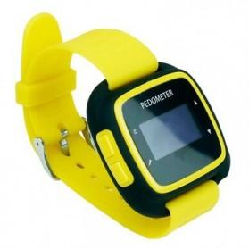 EGOMAN Bluetooth Fitness Activity Tracker - PD198 - Black/Yellow - 2