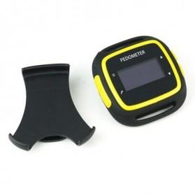 EGOMAN Bluetooth Fitness Activity Tracker - PD198 - Black/Yellow - 3