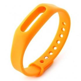 Gelang TPU untuk Xiaomi Mi Band & Mi Band 1s (OEM) - Orange