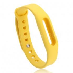 Gelang TPU untuk Xiaomi Mi Band & Mi Band 1s (OEM) - Yellow