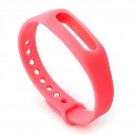 Gelang TPU untuk Xiaomi Mi Band & Mi Band 1s (OEM) - Pink