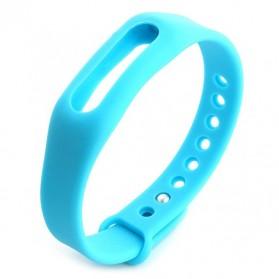 Gelang TPU untuk Xiaomi Mi Band & Mi Band 1s (OEM) - Blue