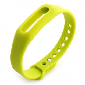 Gelang TPU untuk Xiaomi Mi Band & Mi Band 1s (OEM) - Green