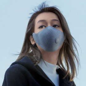 Xiaomi MiJia Airwear Masker Anti Polusi PM2.5 - Black - 7