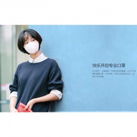 Xiaomi AirPOP Masker Anti Polusi PM2.5 2PCS - White - 4