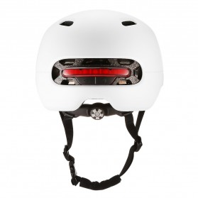 Xiaomi Youpin Smart4u Helm Sepeda City Light Riding Smart Flash Helmet Size L - White - 2