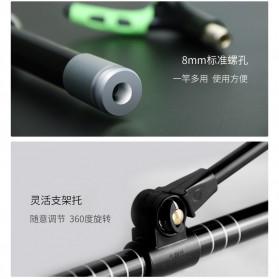 Xiaomi Yeux Bracket Joran Pancing Ikan Adjustable Holder 1.2M - Black - 9