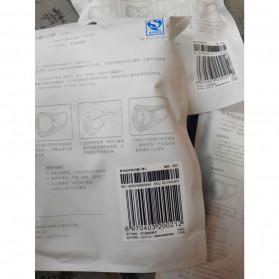 Xiaomi SmartMi Masker Anti Polusi PM2.5 1 PCS Size L - KN95 - Black - 9