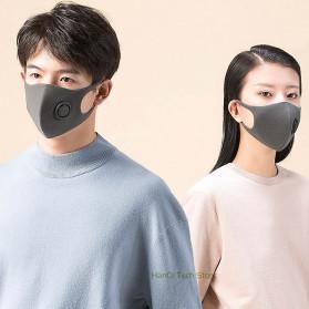 Xiaomi SmartMi Masker Anti Polusi PM2.5 1 PCS Size M - KN95 - Black - 2
