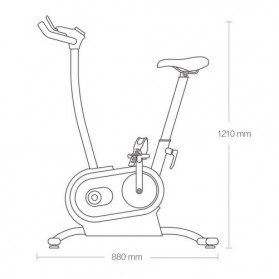 Xiaomi NEXGIM AI Sepeda Statis Gym Fitness Cardio Power Exercise Bike - MG03 - 3