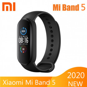Xiaomi Mi Band 5 Chinese Non NFC Version - XMSH10HM - Black