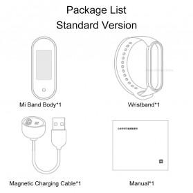Xiaomi Mi Band 5 Chinese Non NFC Version - XMSH10HM - Black - 12
