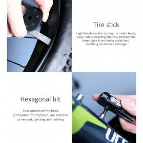 Xiaomi NexTool Set Perlengkapan Reparasi Sepeda Repair Tool Magnetic Sleeve - KT5557 - Black - 8