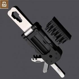 Xiaomi NexTool Set Perlengkapan Reparasi Sepeda Repair Tool Magnetic Sleeve - KT5557 - Black - 2