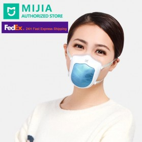 Xiaomi Masker Udara Electric Mask HEPA Filter USB Rechargeable - Q5S - Blue