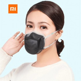 Xiaomi Masker Udara Electric Mask HEPA Filter USB Rechargeable - Q5S - Blue - 2