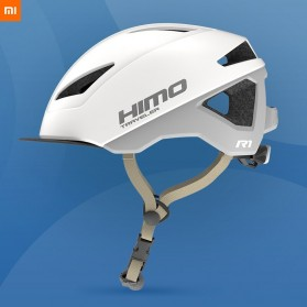 Xiaomi Himo R1 Helm Sepeda Multipurpose Cycling Helmet with Reflective - White