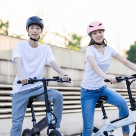 Xiaomi Himo R1 Helm Sepeda Multipurpose Cycling Helmet with Reflective - White - 4