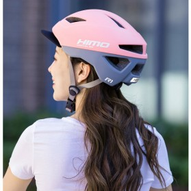 Xiaomi Himo R1 Helm Sepeda Multipurpose Cycling Helmet with Reflective - White - 6