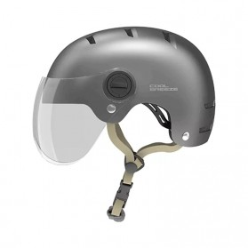 Xiaomi Himo K1M Helm Sepeda Breeze Riding Helmet Visor Lens - Gray