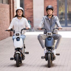 Xiaomi Himo K1M Helm Sepeda Breeze Riding Helmet Visor Lens - White - 5