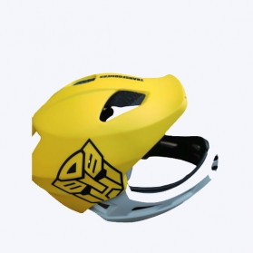 Xiaomi Himo Ki Helm Sepeda Anak Model Transformer Full Face Bike Riding Helmet Protective Gear - Yellow