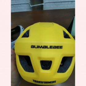 Xiaomi Himo Ki Helm Sepeda Anak Model Transformer Full Face Bike Riding Helmet Protective Gear - Yellow - 3