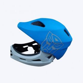 Xiaomi Himo Ki Helm Sepeda Anak Model Transformer Full Face Bike Riding Helmet Protective Gear - Yellow - 6