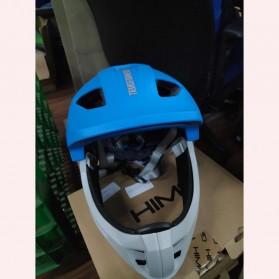 Xiaomi Himo Ki Helm Sepeda Anak Model Transformer Full Face Bike Riding Helmet Protective Gear - Blue - 2