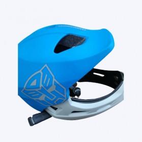 Xiaomi Himo Ki Helm Sepeda Anak Model Transformer Full Face Bike Riding Helmet Protective Gear - Blue - 3