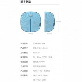 Xiaomi Youpin Leravan Pemijat Kaki Elektrik Portable USB Pulse EMS Muscle Mat - LJ-FH001MBL - Blue - 7
