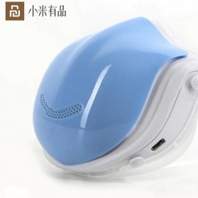 Pudun Masker Udara Electric Mask Respirator HEPA Filter USB Rechargeable - Q5 Pro - Blue