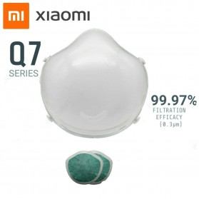 Xiaomi Masker Udara Electric Mask Respirator HEPA Filter USB Rechargeable - Q7 - Pink - 3
