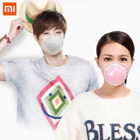 Xiaomi Masker Udara Electric Mask Respirator HEPA Filter USB Rechargeable - Q7 - Pink - 8