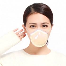 Pudun Masker Udara Electric Mask Respirator HEPA Filter USB Rechargeable - Q7 - Brown
